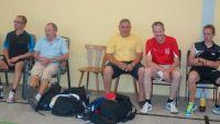 SV Erbach mit Matthias Sickold vom Ausrichter SV Hallgarten